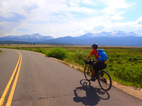 The end of the Leadville Detour.