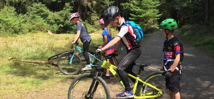 Pedal To Progression Children's Camps MTB Grading