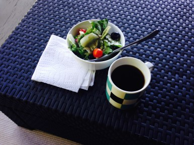 Lunch | Salad + Coffee