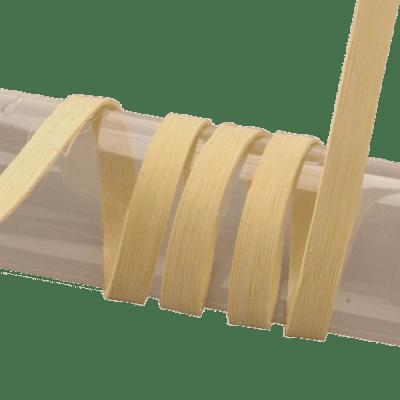 Peddigband mit glatten Schnittkanten, unbehandeltes Naturmaterial zum verflechten