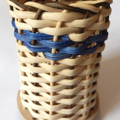 Basteset Stifteköcher aus Peddigschiene