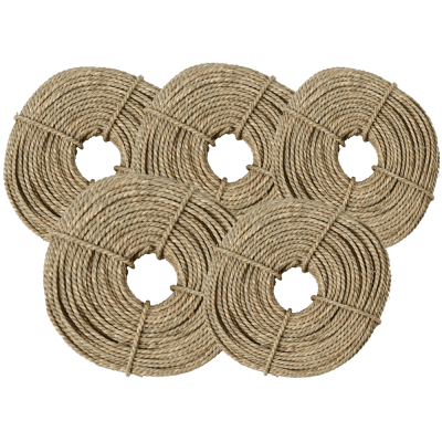 Seegras Elha Schnur 5x 500g 2,8-3 mm