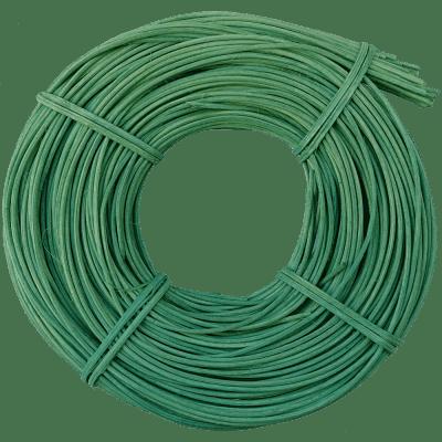 Peddigrohr Grün Mintgrün Zartrosa Flechtmaterial Korbflechten