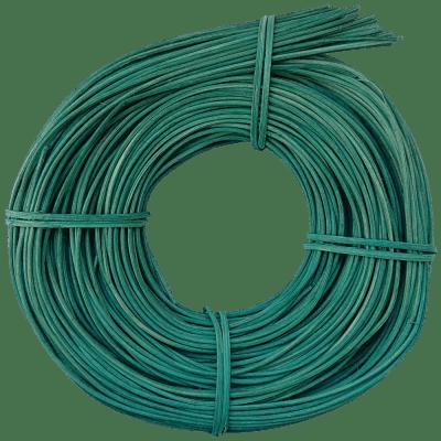Peddigrohr Türkis Türkisblau Flechtmaterial Korbflechten