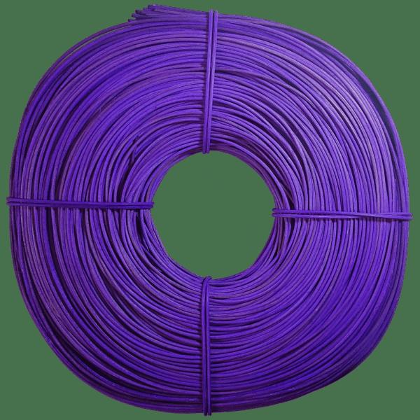 Peddigrohr intensiv gefärbt lila violett 2,25mm 500g Rolle