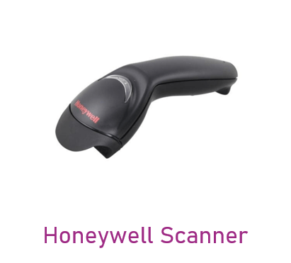 Can be used in Honeywell Scanner device