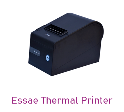 Can be used in Essae Thermal Printer device