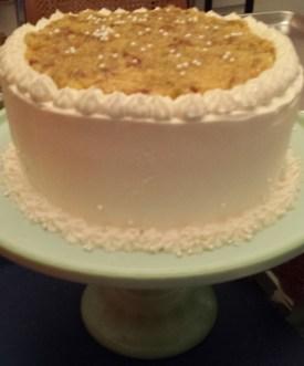 Booze Cake aka Pedestal Lane Cake