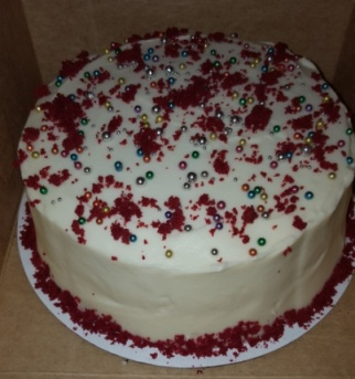 Holiday Edition Classic Red Velvet Cake