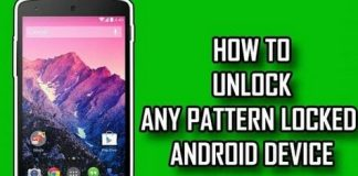 Unlock Android Pattern