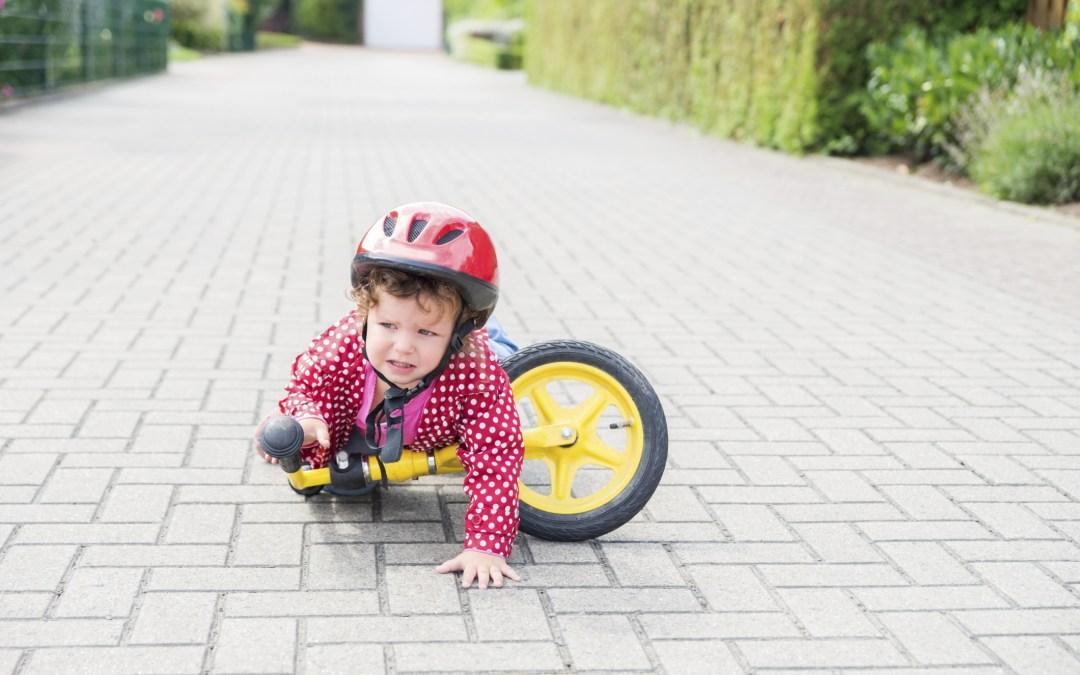 La mayor parte de lesiones en los niños provienen de las caídas