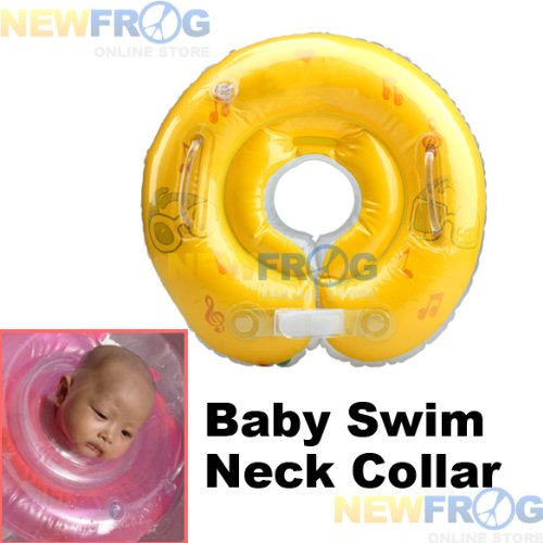 The Floating Neck Collar Your Baby Can Swim The