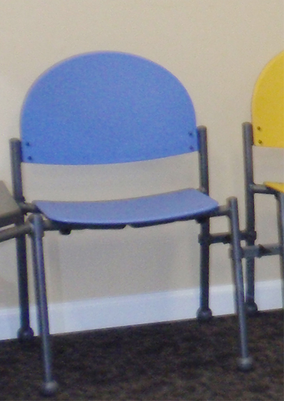 Harvest Pediatrics Affordable And Colorful Waiting Room