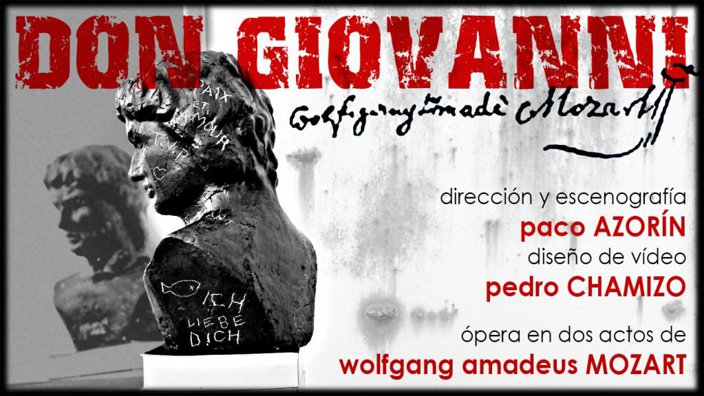 Pedro CHamizo Don Giovanni