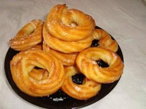 Roscos en Almíbar
