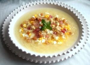 Sopa de Tostones