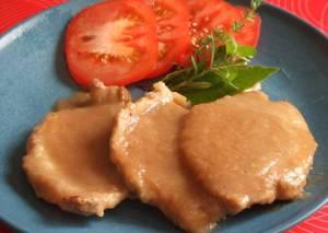 Solomillo en Salsa de Hinojo y Cebolla