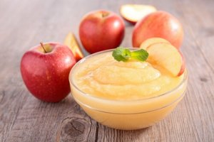 Puré de Manzanas Crudas