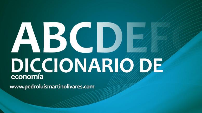 PORTADA DICCIONARIO - Diccionario de Economía - Pedro Luis Martín Olivares