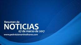 Principales noticias 07 de marzo 2017 - Principales noticias 07 de marzo 2017