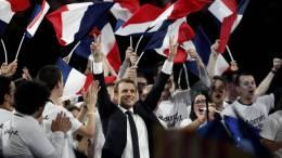 Macron promete defender a Europa y sus empresas - Macron promete defender a Europa y sus empresas