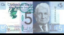 Escoceses manejarán billetes de polímero - Escoceses manejarán billetes de polímero