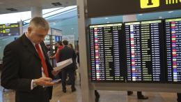 Sindicatos españoles hicieron un alto en huelga aeroportuaria - Sindicatos españoles hicieron un alto en huelga aeroportuaria