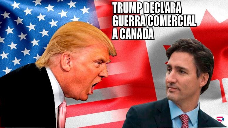 Canadá y EE. UU. se sumen en una guerra - Canadá y EE. UU. se sumen en una guerra