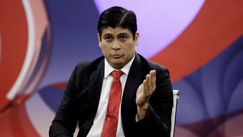 Empresarios costarricenses lanzan petición a Carlos Alvarado - Empresarios costarricenses lanzan petición a Carlos Alvarado