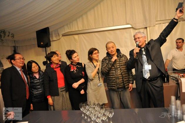 Liu Hao au nouvel an chinois / Photo : Jean-François Maillot