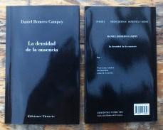 La Densidad de La Ausencia · Daniel Romero Campoy
