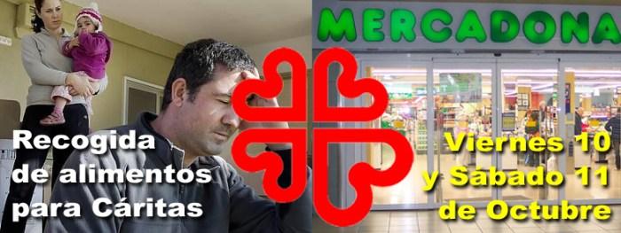 Logo Mercadona Caritas