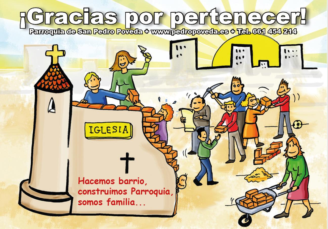 ¿Quieres pertenecer a nuestra familia parroquial?