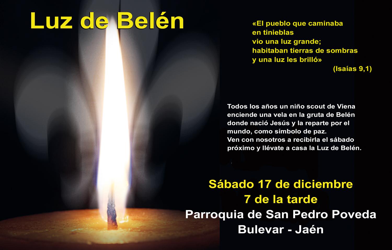 Luz de la Paz de Belén