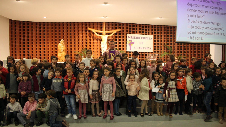 Misa con niños de 1º de Primaria