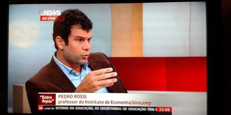 globonews Pedro Rossi