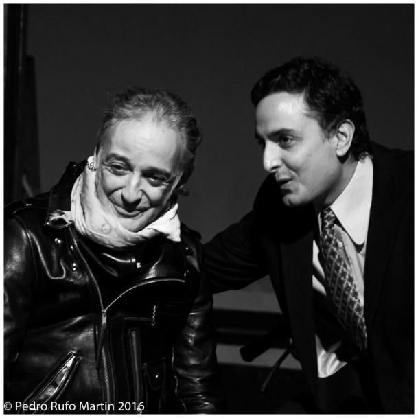 Alberto Garcia-Alix con Josie Journal