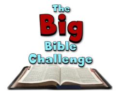 Big Bible Challenge: Forgiveness