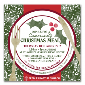 Christmas Meal Ticket