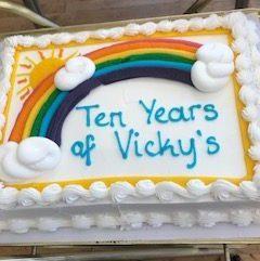 Happy 10th birthday Vicky's Tea Room!