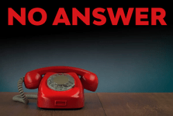 No Answer: 2 - When God won't co-operate