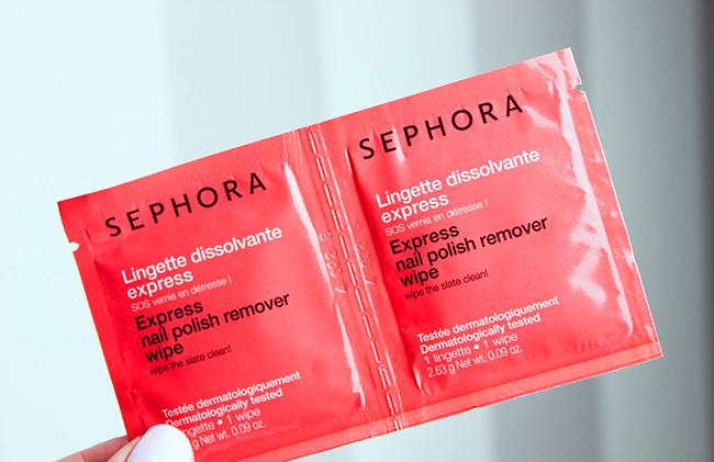 Lingettes dissolvantes express Sephora-12