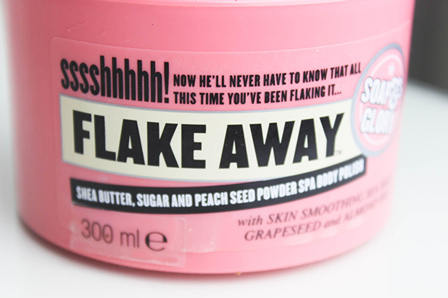 Flake Away de Soap & Glory-revue-2