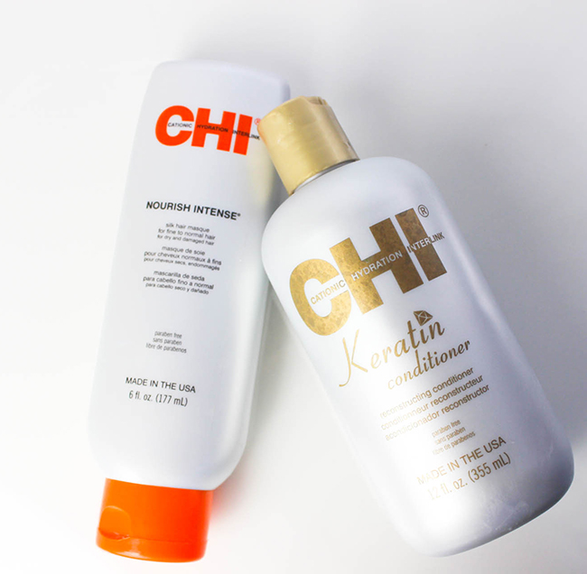 CHI Keratin Conditioner-CHI Nourish Intense Masque-2