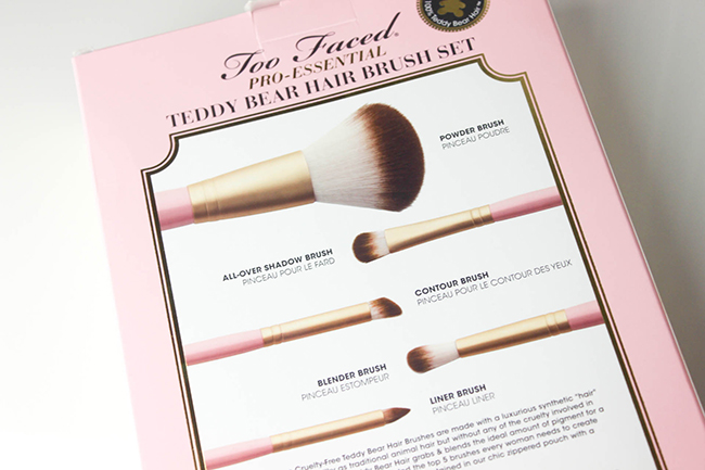 Absolute Essentials- Set de pinceaux TOO FACED-8