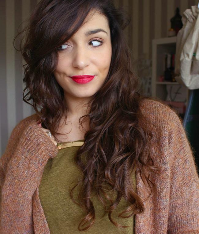Avoir de beaux cheveux et longs