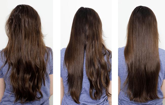 Dafni-brosse-lisser-cheveux-ondules-avant-apres