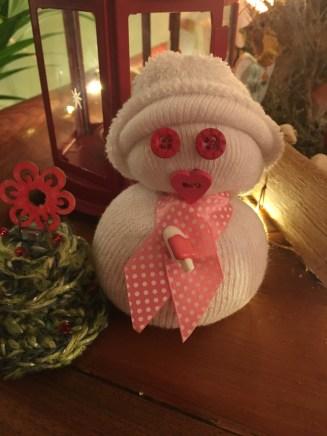 Petit bonhomme de neige - DIY