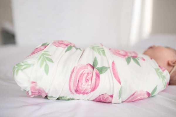 Copper Pearl Grace Knit Swaddle Blanket