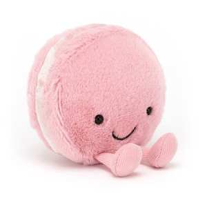Jellycat Amuseable Macaron Raspberry